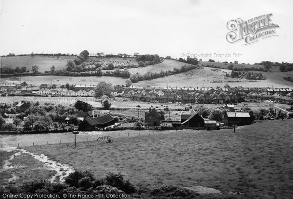 Photo of Wooburn Green, From London Road c.1954