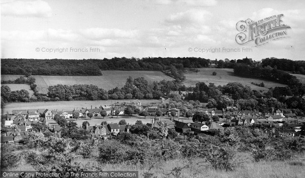 Photo of Wooburn Green, From The Grass Hill c.1960