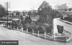Green And War Memorial c.1950, Wooburn Green