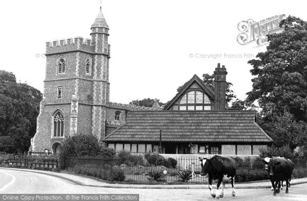 Photo of Wooburn Green, St Paul's Church c.1955
