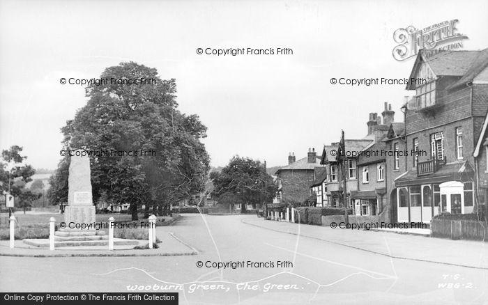 Photo of Wooburn Green, The Green c.1950