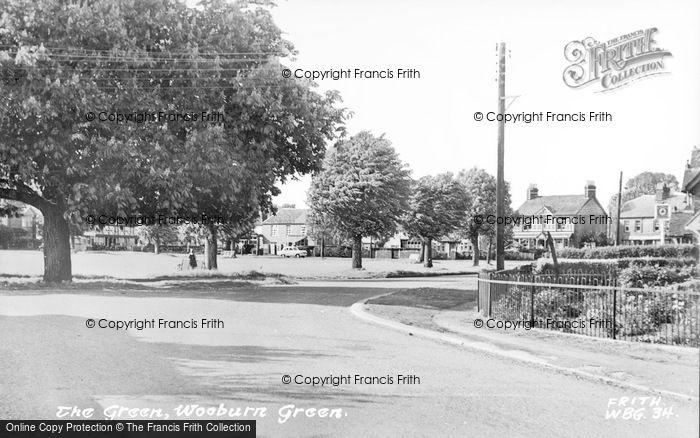 Photo of Wooburn Green, The Green c.1960