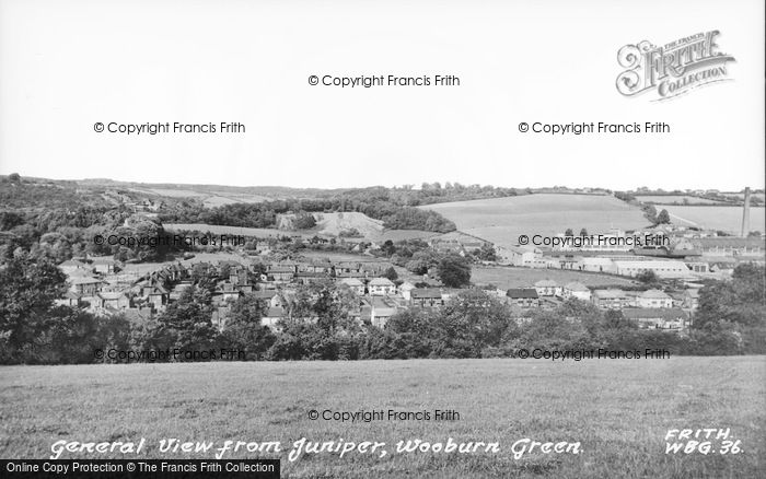 Photo of Wooburn Green, View From Juniper c.1960