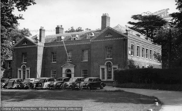Photo of Wooburn Green, Wooburn House c.1955