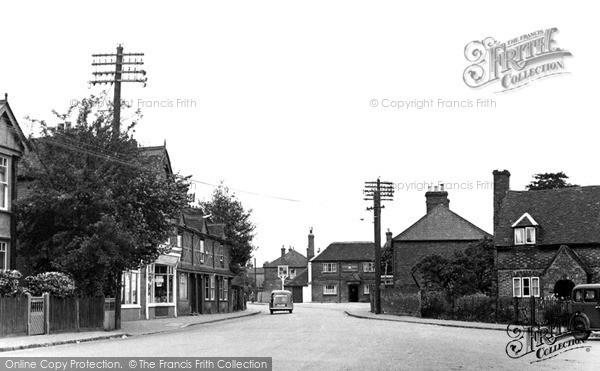 Photo of Wooburn Green, Wycombe Lane c.1955