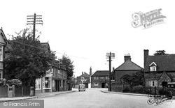 Wooburn Green, Wycombe Lane c.1955
