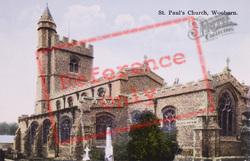 St Paul's Church c.1920, Wooburn