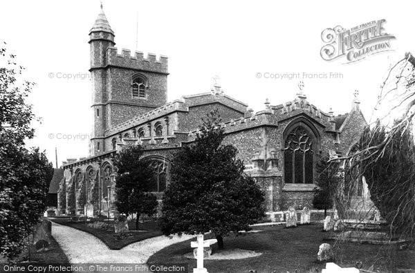 Photo of Wooburn, St Paul's Parish Church 1910