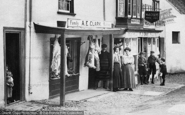 Photo of Wooburn, The Butchers 1910