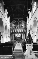 Wooburn, The Church Interior 1910