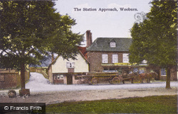 The Station Approach c.1920, Wooburn