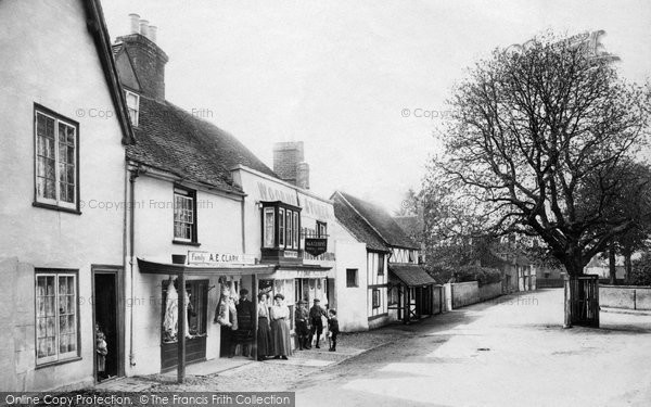 Photo of Wooburn, The Village 1910