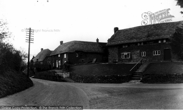 Photo of Woodborough, The Village c.1955