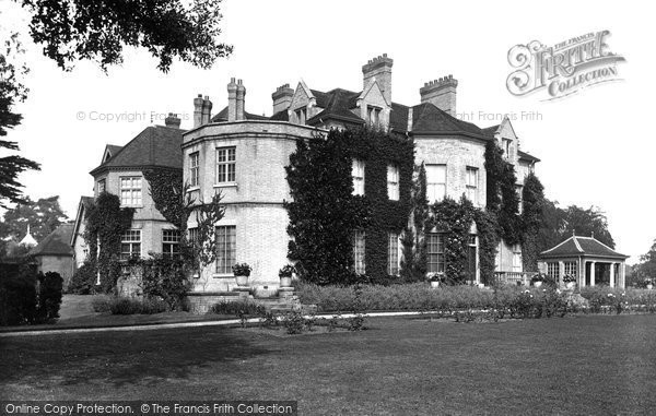 Photo of Woodbridge, Boulge Hall 1929