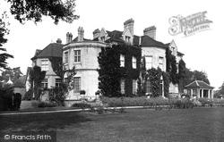 Boulge Hall 1929, Woodbridge