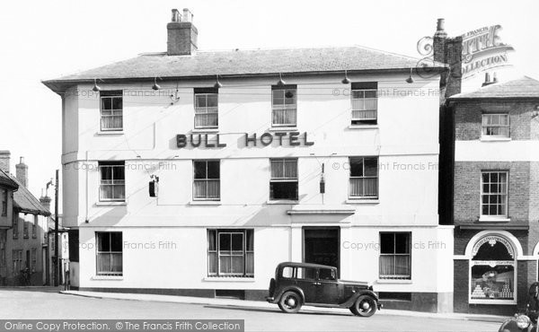 Photo of Woodbridge, Bull Hotel 1938