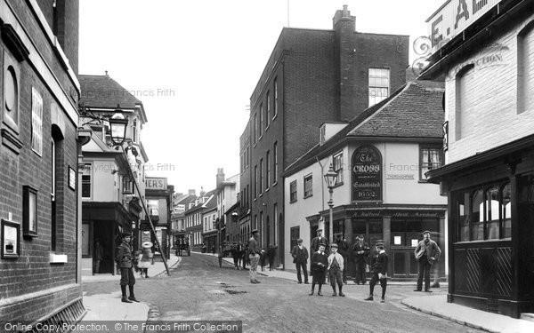Photo of Woodbridge, Church Street 1906