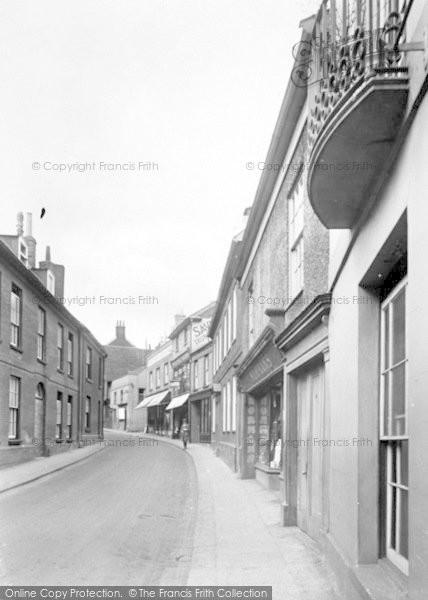 Photo of Woodbridge, Church Street 1925