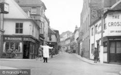 Woodbridge, Church Street c.1950