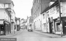 Woodbridge, Church Street c.1965