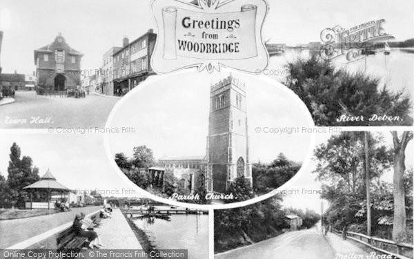 Photo of Woodbridge, Composite c.1925