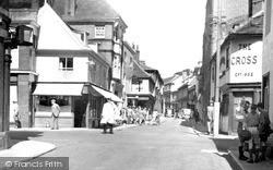 Cross Corner c.1955, Woodbridge