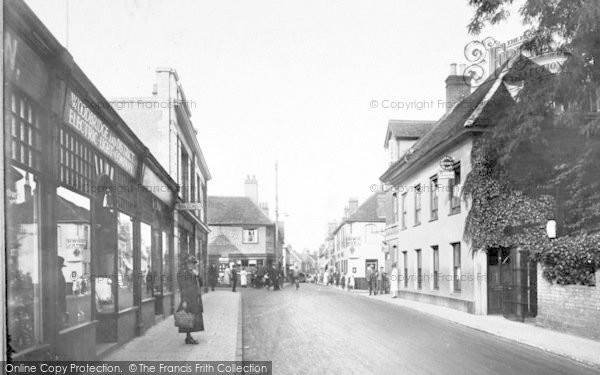 Photo of Woodbridge, Cross Roads 1925