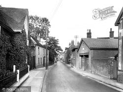 Cumberland Street 1925, Woodbridge