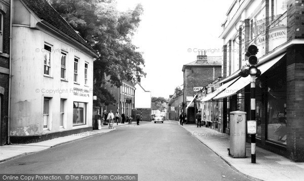 Photo of Woodbridge, Cumberland Street c.1960