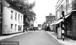 Cumberland Street c.1960, Woodbridge