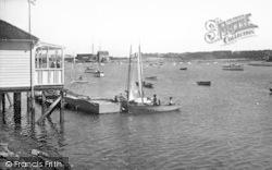 Woodbridge, Deben Yacht Club c.1955