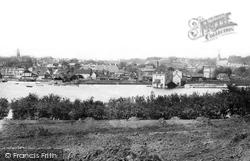 From Across River Deben 1896, Woodbridge