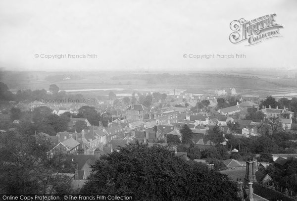 Photo of Woodbridge, From Church Tower 1894