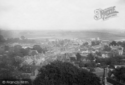 Woodbridge, From Church Tower 1894