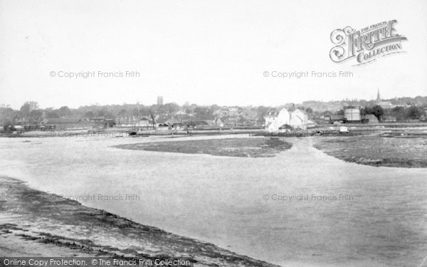 Photo of Woodbridge, From The River 1906