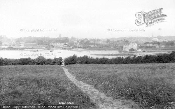Photo of Woodbridge, General View 1894