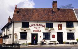 Kings Head, Market Place 1990, Woodbridge