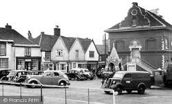 Market Place c.1955, Woodbridge