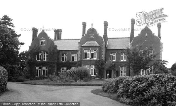 Photo of Woodbridge, Marryott House c.1955