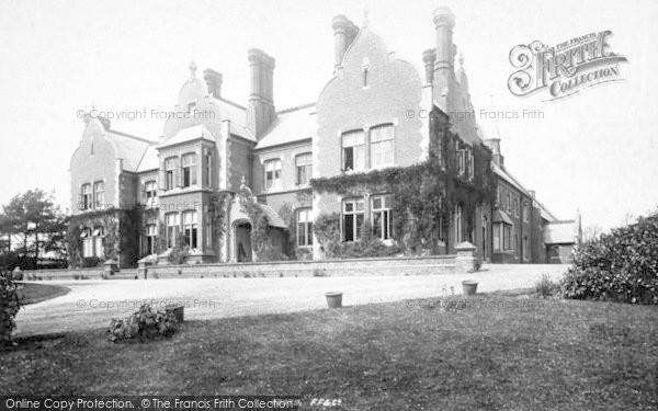 Photo of Woodbridge, Marycott House 1894