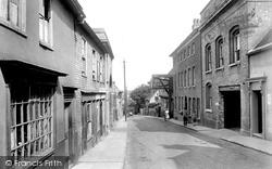 New Street 1925, Woodbridge
