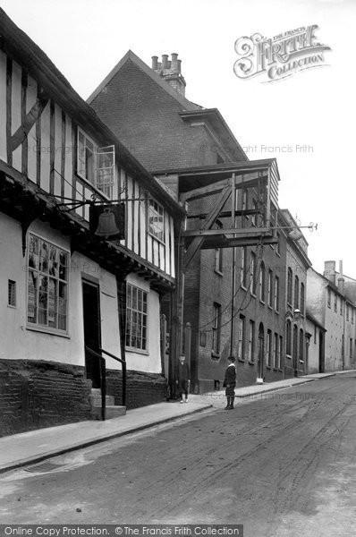 Photo of Woodbridge, Old Weigh Bridge 1908