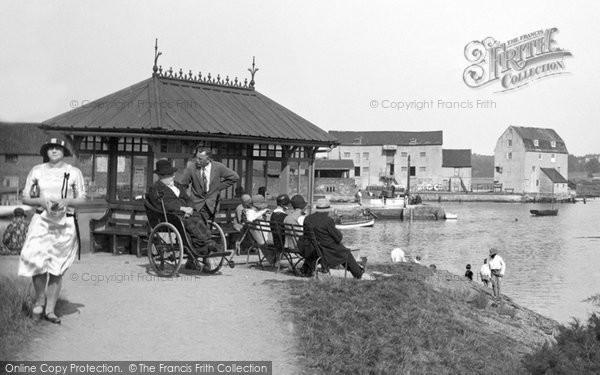 Photo of Woodbridge, On The Promenade 1929