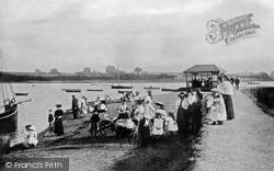 People On The River Bank 1898, Woodbridge