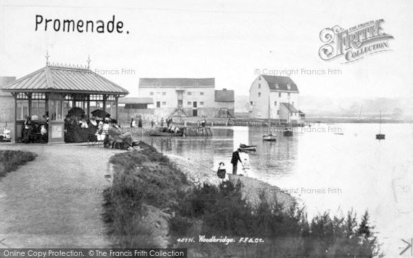 Photo of Woodbridge, Promenade 1898