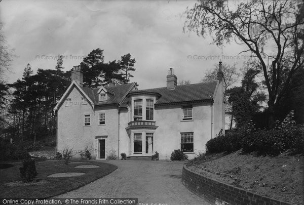 Photo of Woodbridge, Rectory 1896