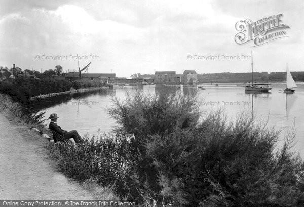 Photo of Woodbridge, River Deben 1925