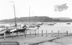 Woodbridge, River Deben c.1965