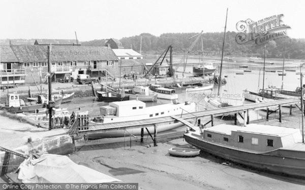 Photo of Woodbridge, River Deben c.1970