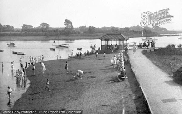 Photo of Woodbridge, River Walk 1929